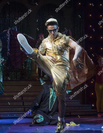 Karl Queensborough as Aladdin