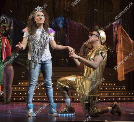 Allyson Ava-Brown as Jasmine, Karl Queensborough as Aladdin