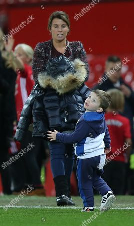 Coleen Rooney With Youngest Son Klay Rooney