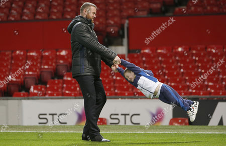 Wayne Rooney with son Klay Rooney