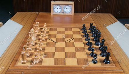 Editorial picture of Sale of 'match of the century' chess board, Dallas, USA - Nov 2016