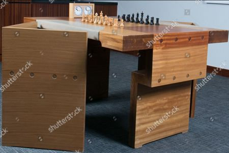 Editorial image of Sale of 'match of the century' chess board, Dallas, USA - Nov 2016