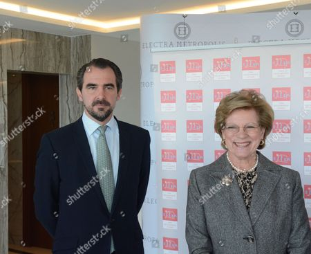 Prince Nikolaos of Greece, Queen Anne-Marie