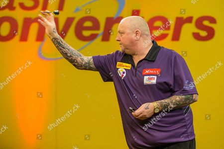Andy Hamilton during the Cash Converters Players Championship Final at Butlins, Minehead