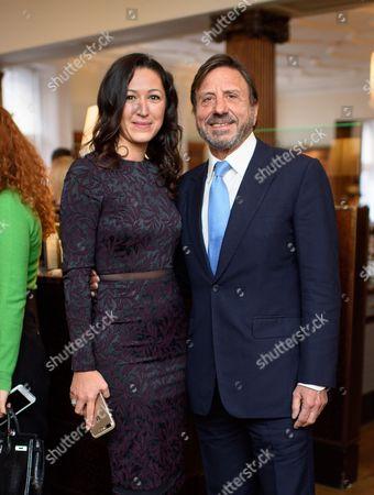 Katya Zemtsova and Sir Rocco Forte