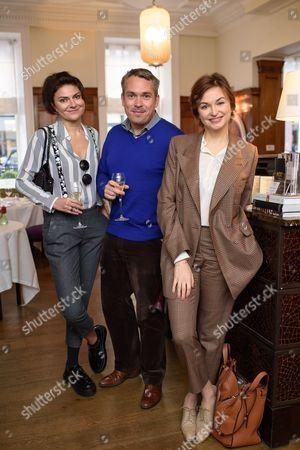 Olga Sagiryan, Ivan Panfilov and Karina Dobrotvorskaya