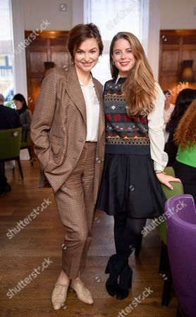 Karina Dobrotvorskaya and Lydia Forte