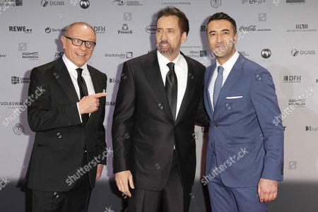 Stefan Schulze-Hausmann, Nicolas Cage, Mehmet Kurtulus