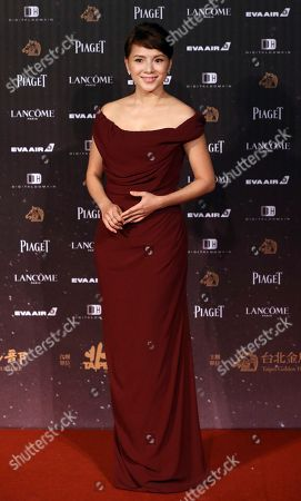 CoCo Lee Malaysian actress Angelica Lee poses on the red carpet at the 53rd Golden Horse Awards in Taipei, Taiwan, . Lee is a guest at this year's Golden Horse Awards, one of the Chinese-language film industry's biggest annual events