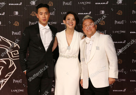 "Derek Tsang, Eric Tsang, Bowie Tsang From left, Hong Kong director Derek Tsang, Taiwanese actress Bowie Tsang and Hong Kong actor Eric Tsang arrive at the 53rd Golden Horse Awards in Taipei, Taiwan, . Derek Tsang is nominated as Best Director for the film ""Soul Mate"" and Eric Tsang is nominated as Best Supporting Actor for the film ""Mad World"" at this year's Golden Horse Awards - one of the Chinese-language film industry's biggest annual events"