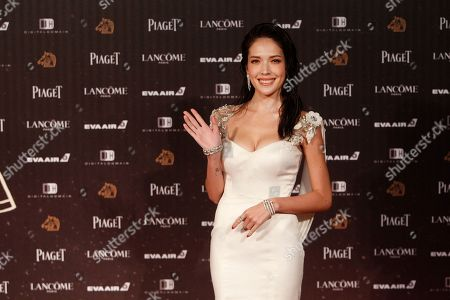 "Hsu Wei-ning Taiwanese actress Hsu Wei-ning arrives at the 53rd Golden Horse Awards in Taipei, Taiwan, . Hsu is nominated as Best Leading Actress for the film ""The Tag-Along"" at this year's Golden Horse Awards, one of the Chinese-language film industry's biggest annual events"