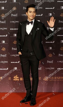 Song Seung Heon South Korean actor Song Seung Heon poses on the red carpet at the 53rd Golden Horse Awards in Taipei, Taiwan, . Song is a guest at this year's Golden Horse Awards, one of the Chinese-language film industry's biggest annual events