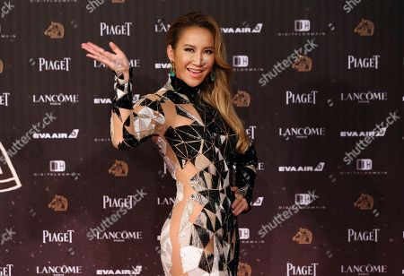 CoCo Lee Hong Kong born U.S. singer CoCo Lee poses on the red carpet at the 53rd Golden Horse Awards in Taipei, Taiwan, . Lee is a guest at this year's Golden Horse Awards, one of the Chinese-language film industry's biggest annual events