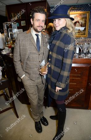 Stock Image of Hamish Jenkinson and Amber Atherton