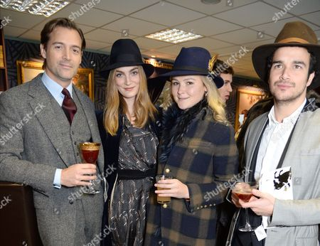 Patrick Grant, Amber Atherton with guests
