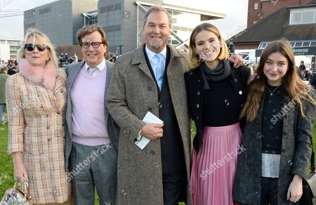 Stock Photo of Theo Fennell, Louise Fennel, Harry Herbert with guests