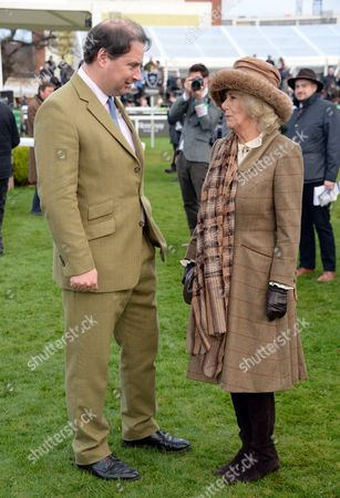 Stock Picture of Jo Thornton and Camilla Duchess of Cornwall