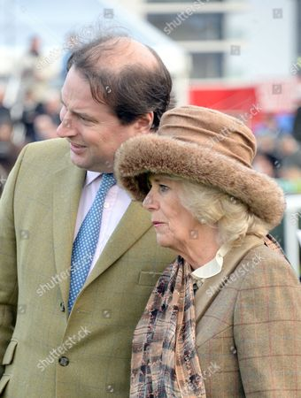 Stock Image of Jo Thornton and Camilla Duchess of Cornwall