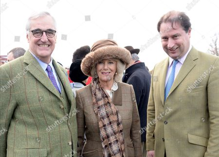 Stock Picture of Maurice-Richard Hennessy, Camilla Duchess of Cornwall and Jo Thornton