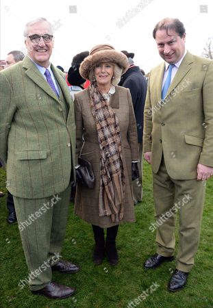 Stock Photo of Maurice-Richard Hennessy, Camilla Duchess of Cornwall and Jo Thornton