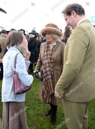 Viscountess Marchwood, Camilla Duchess of Cornwall and Jo Thornton