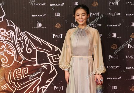 "Ma Sichun arrives at the 53rd Golden Horse Awards in Taipei, Taiwan,. Ma is nominated as Best Leading Actress for the film ""Soul Mate"" at this year's Golden Horse Awards -one of the Chinese-language film industry's biggest annual events"