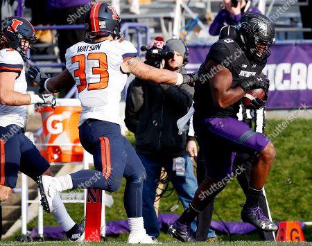 Editorial photo of Illinois Fighting Illini v Northwestern Wildcats, NCAA football game, Evanston, USA - 26 Nov 2016