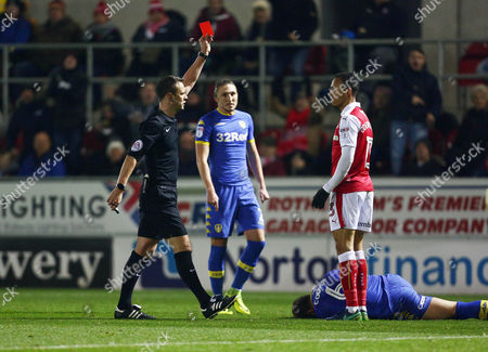 Editorial picture of Football - Sky Bet Championship 2016/17 Rotherham United v Leeds United New York Stadium, New York Way, Rotherham, United Kingdom - 26 Nov 2016