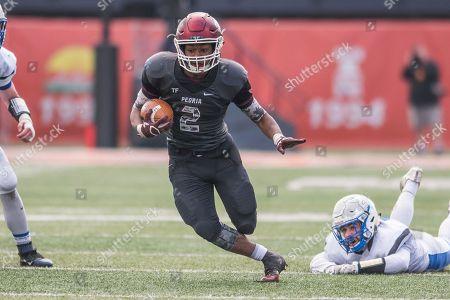 Editorial photo of Vernon Hill v Peoria, Illinois Class 5A Championship Football, Champaign, USA - 26 Nov 2016
