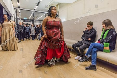 Editorial photo of 'Aluminum' Dance Performance, Tate Modern, London, UK - 26 Nov 2016