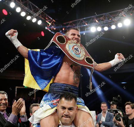 Editorial picture of Walters Lomachenko Boxing, Las Vegas, USA - 26 Nov 2016
