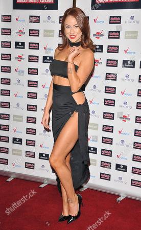 Editorial image of Urban Music Awards, London, UK - 26 Nov 2016