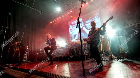 Editorial photo of Hipsway in concert at The O2 ABC, Glasgow, Scotland, UK - 26 Nov 2016