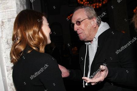 Emma Stone and Danny Aiello