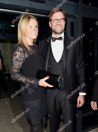 Stock Photo of Jurgen Klopp and wife Ulla Sandrock