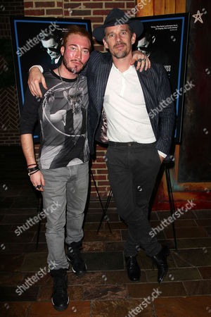 Stock Picture of Adam Moryto (Producer) and Ethan Hawke
