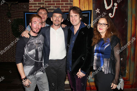 Stock Image of Adam Moryto, Robert Budreau, Ethan Hawke, Leonard Farlinger,Jennifer Jonas