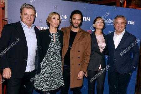 Gilles Galud, Daniela Biscarini, Virgile Bramly, Caterina Murino, Dominique Delport