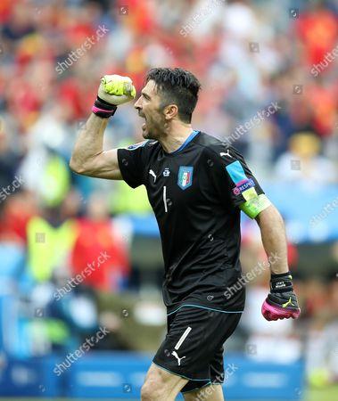 Gigi Buffon, the italian GK