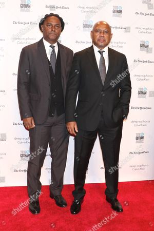 Raoul Peck and Hebert Peck