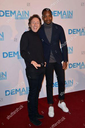 Stephane Bern and Ahmed Drame