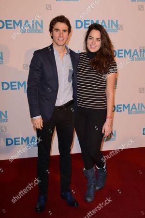 Julien Dereins and Anouchka Delon