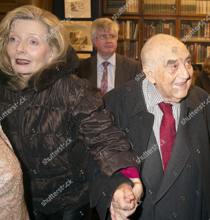 'My History: A Memoir of Growing Up' Book Launch Party at Henry Sotheran's Mayfair Lady Annabelle and Lord George Weidenfeld