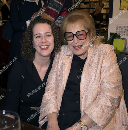 'Antonia Fraser: My History: A Memoir of Growing Up' Book Launch Party at Henry Sotheran's Mayfair Lady Antonia Fraser with Her Grand-daughter