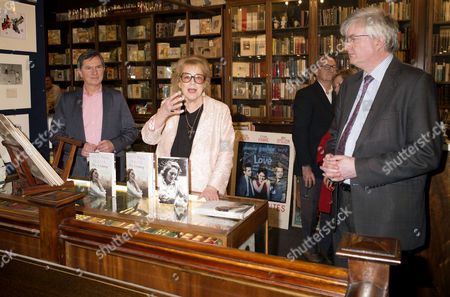 'Antonia Fraser My History: A Memoir of Growing Up' Book Launch Party at Henry Sotheran's Mayfair Lady Antonia Fraser