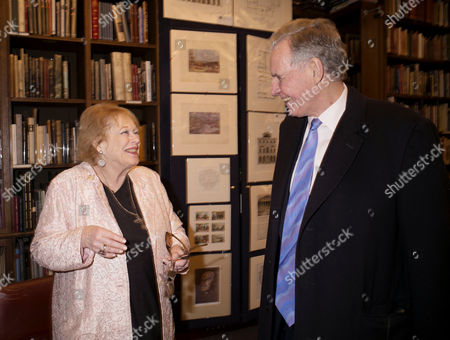 'Antonia Fraser: My History: A Memoir of Growing Up' Book Launch Party at Henry Sotheran's Mayfair Lady Antonia Fraser and Jonathan Aitken