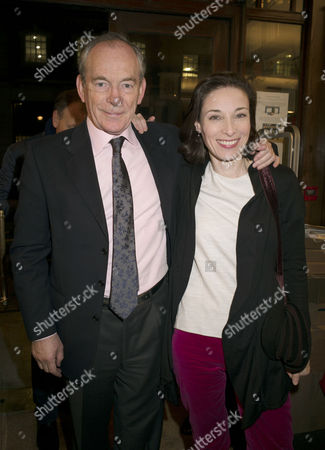'My History: A Memoir of Growing Up' Book Launch Party at Henry Sotheran's Mayfair Simon Jenkins with His Wife Hannah Kaye