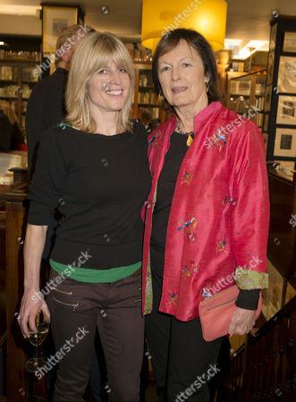 'My History: A Memoir of Growing Up' Book Launch Party at Henry Sotheran's Mayfair Rachel Johnson and Rachel Billington