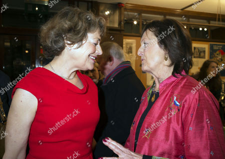 'My History: A Memoir of Growing Up' Book Launch Party at Henry Sotheran's Mayfair Flora Fraser and Rachel Billington
