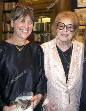 'Antonia Fraser: My History: A Memoir of Growing Up' Book Launch Party at Henry Sotheran's Mayfair Baroness Caroline Waldegrave and Lady Antonia Fraser